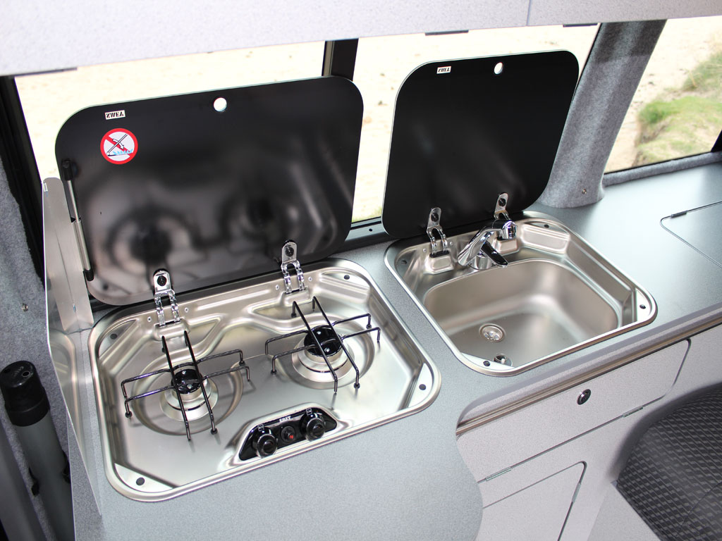Sink and Cooker in the Tiree