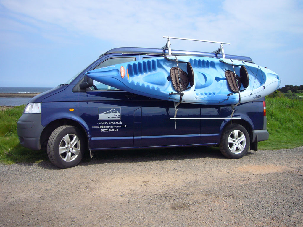 Kayak On Roof >> Roof Rack Systems - Available on an elevating roof to ...