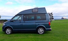 high top on a Tiree campervan