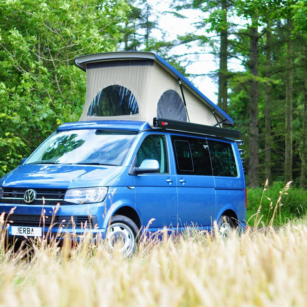 new vw camper van
