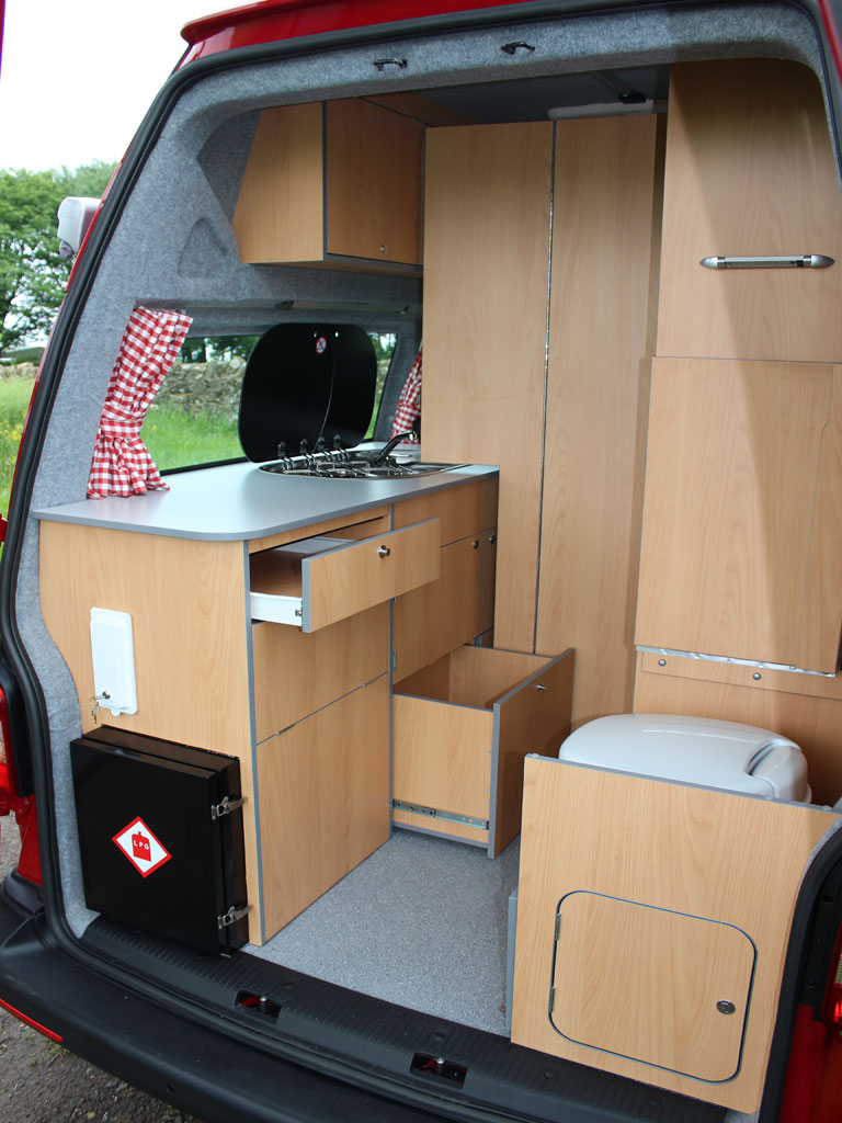 Conversion Small Campervans With Toilet And Shower Vw Campervan