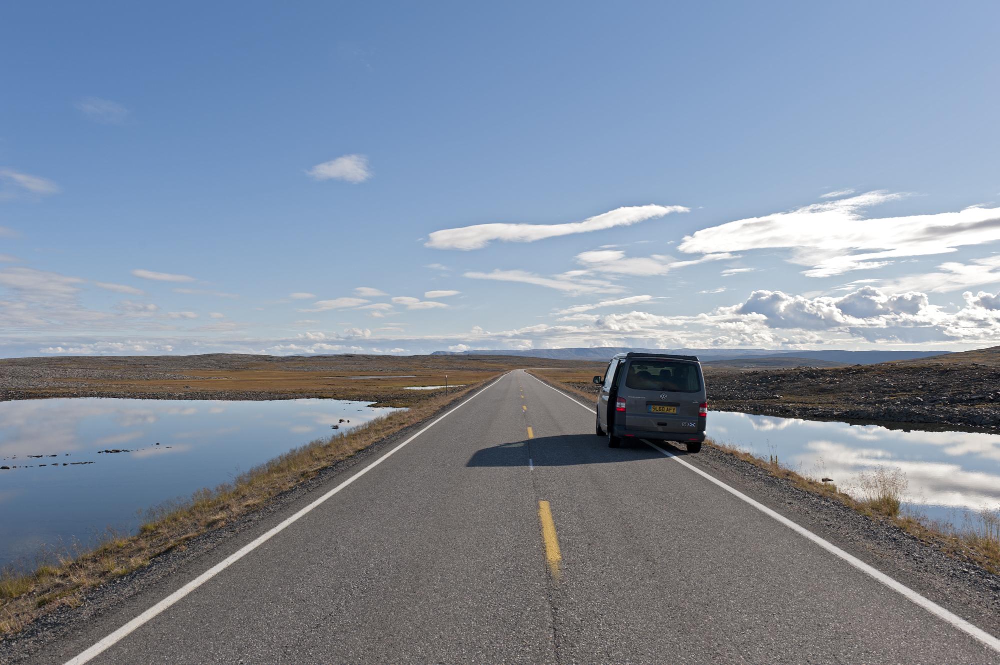 campervan road trip