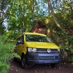 yellow swb camper