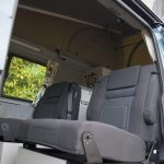 campervan with toilet and shower