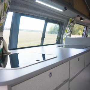 4 berth campervan with toilet