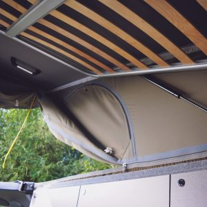 vw t5 roof bed boards