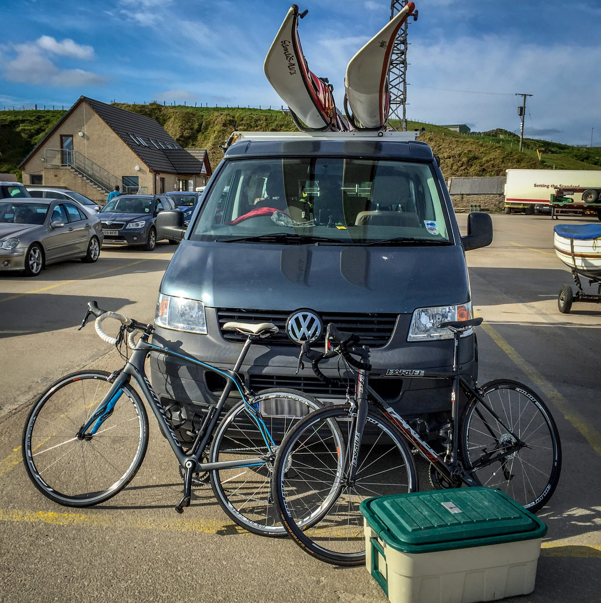 Campervan ready for anything