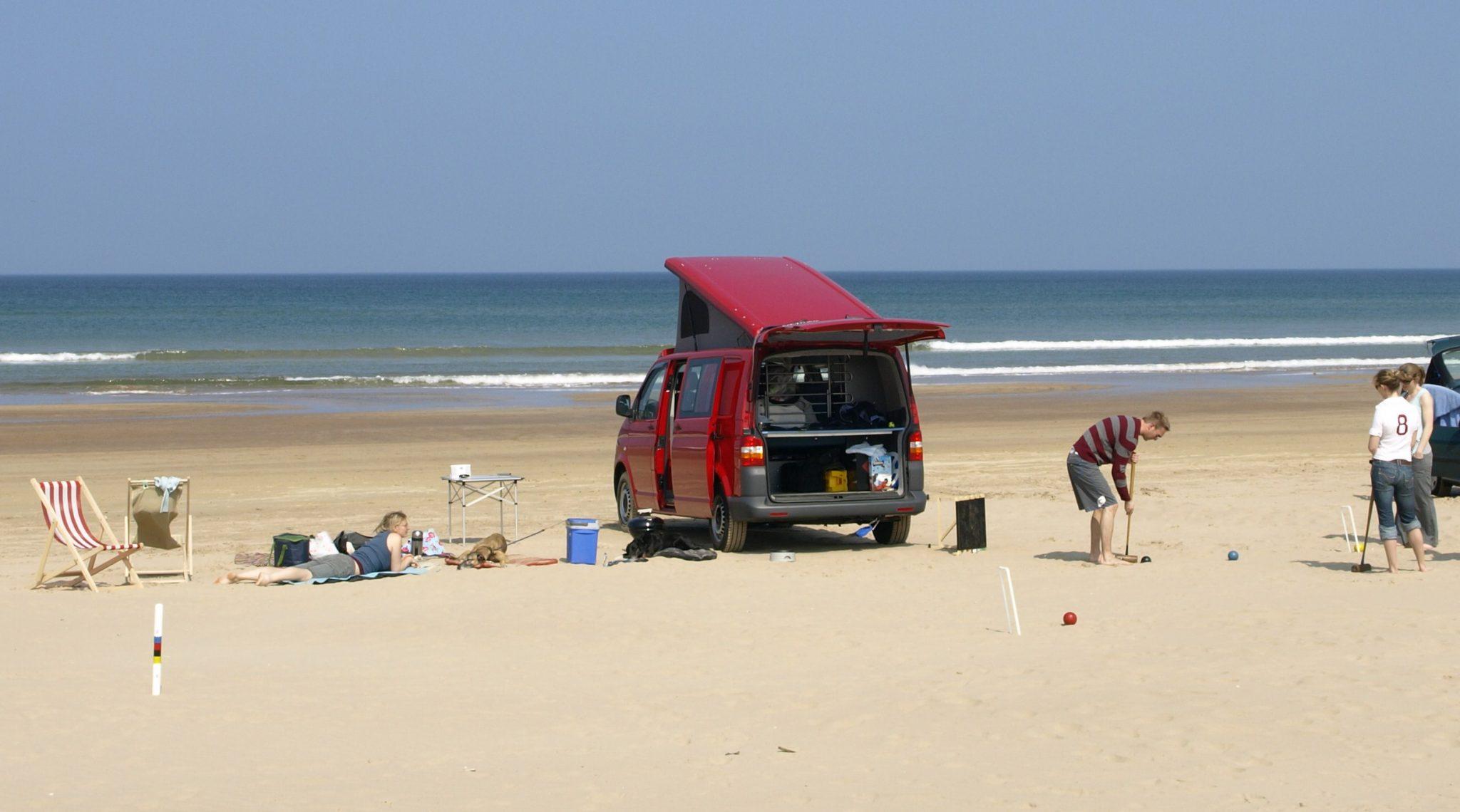 Camper Van Beach