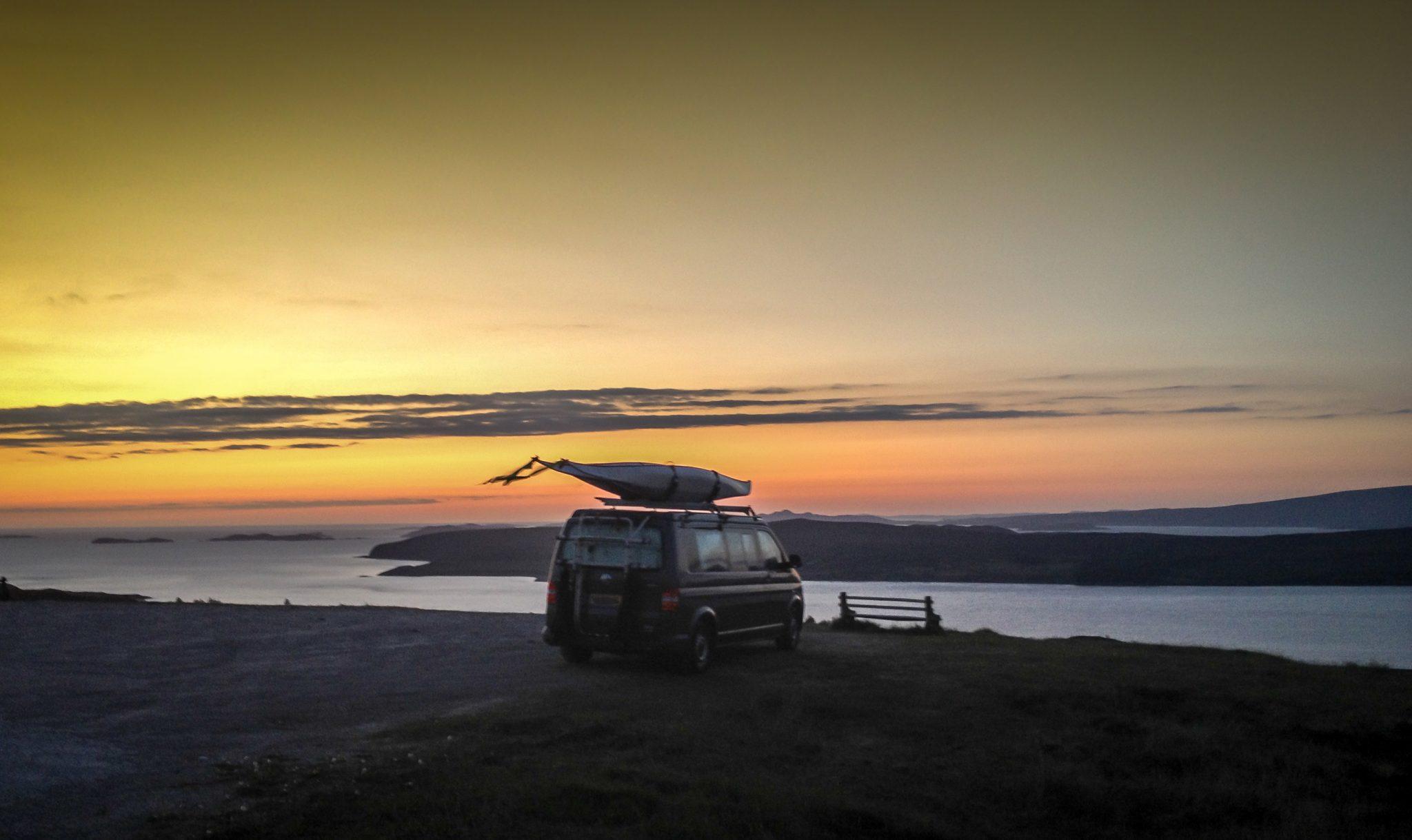 Campervan Sunset