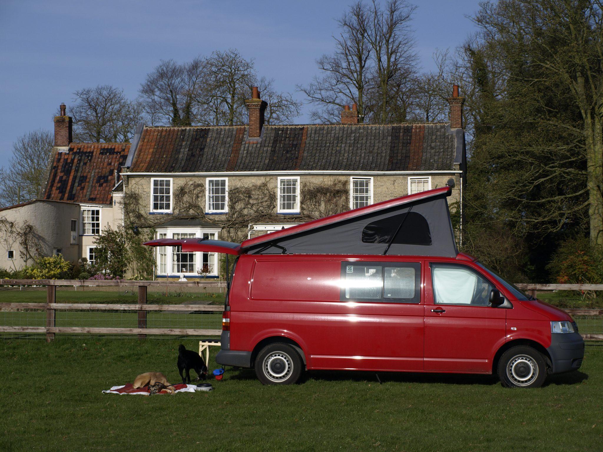 LWB T5 Camper Van