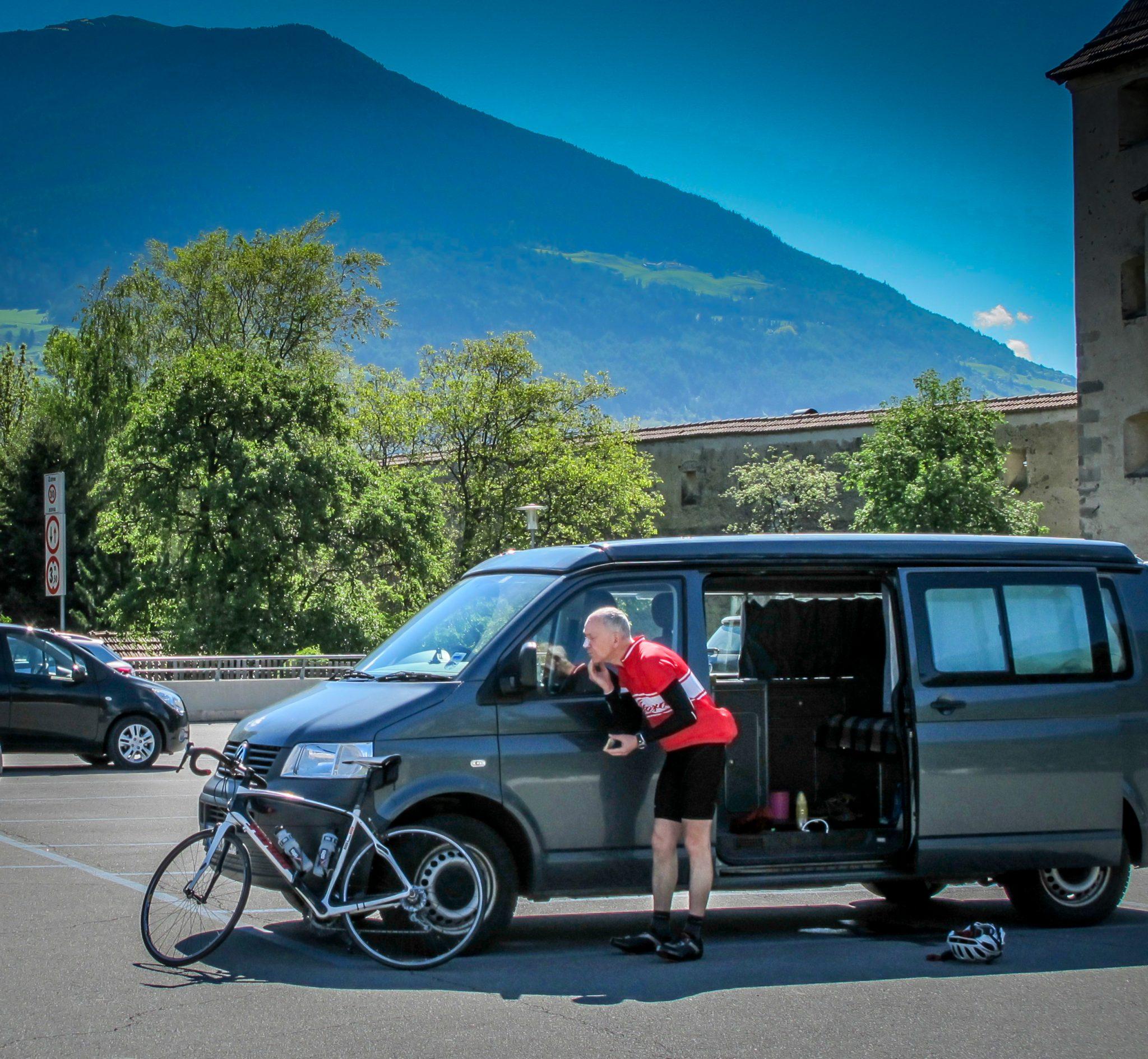 bike campervan