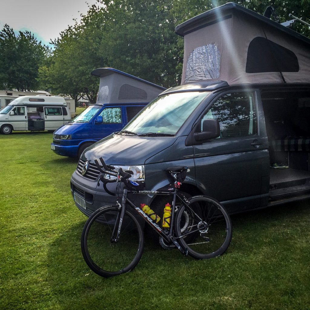 Campervan Cycling