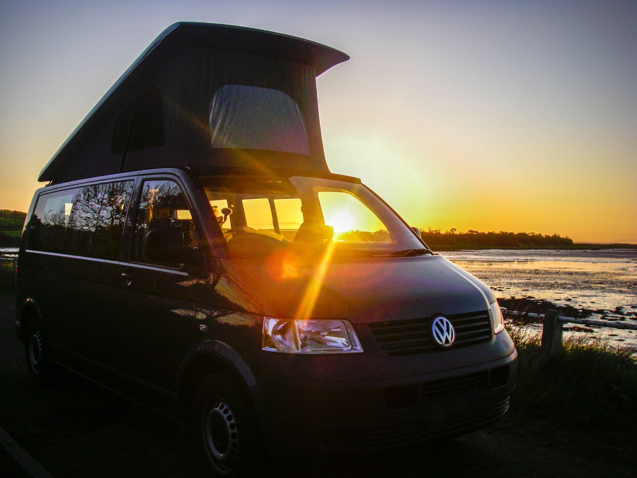 Jerba Campervan Sunset