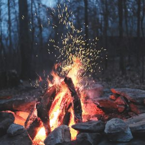 how to build campfire