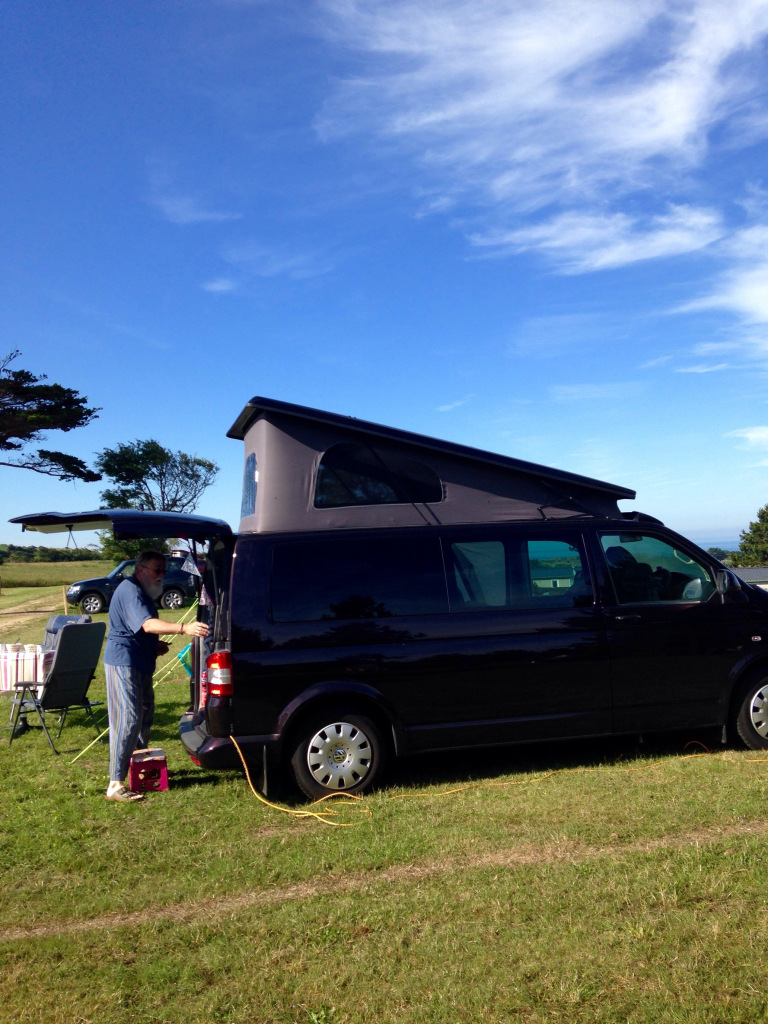 rear elevating campervan