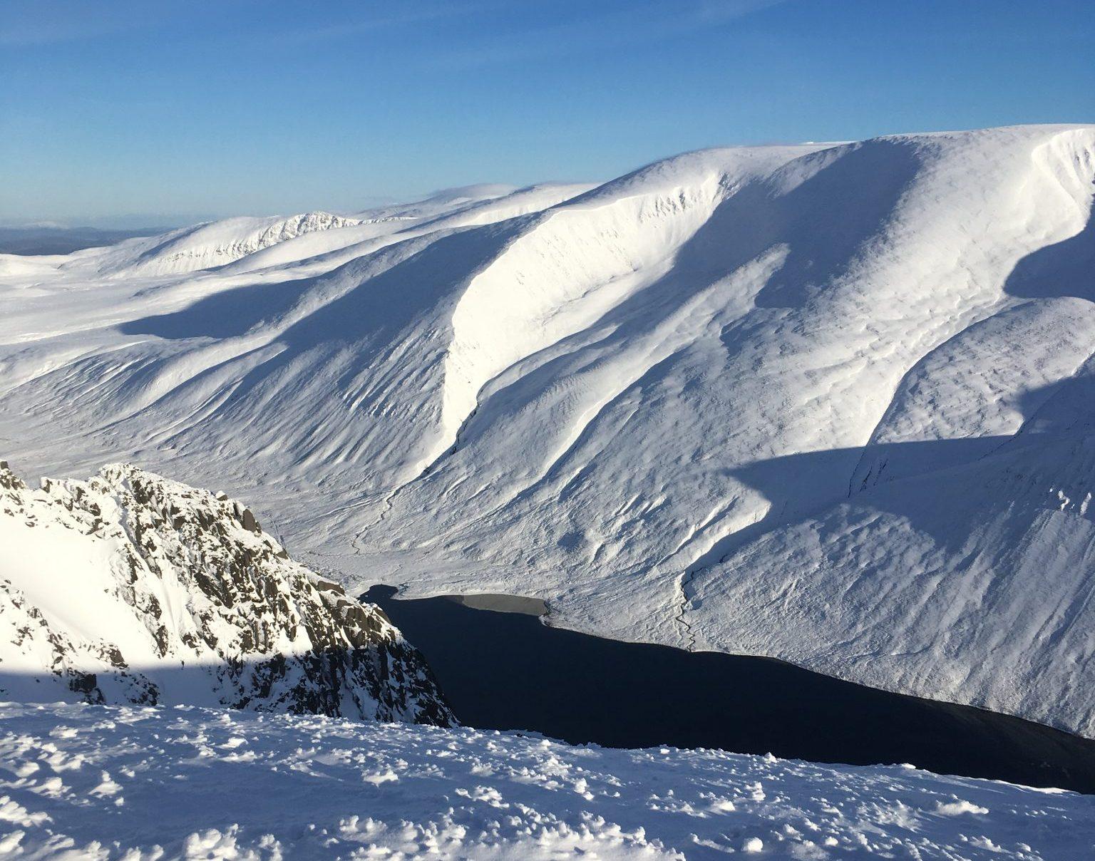 cairngorms snow