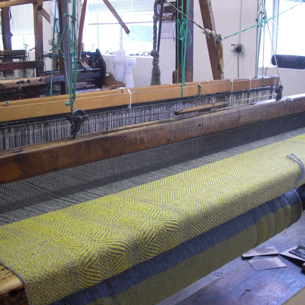 Donegal weaving workshop