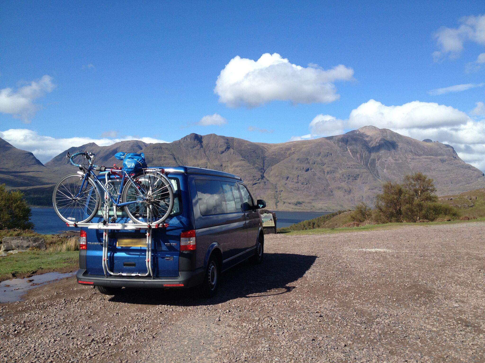 T5 camper bike rack