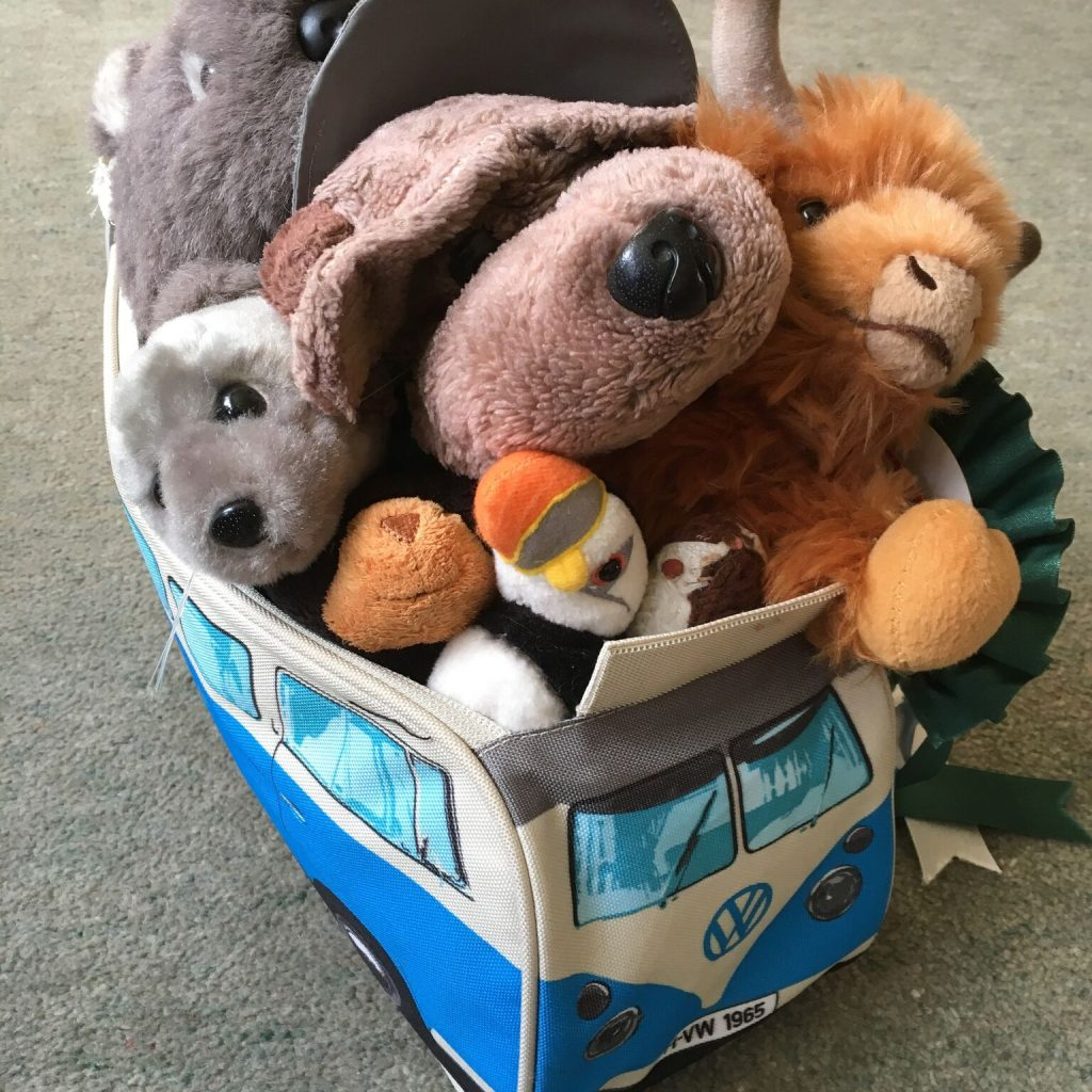 The campervan crew