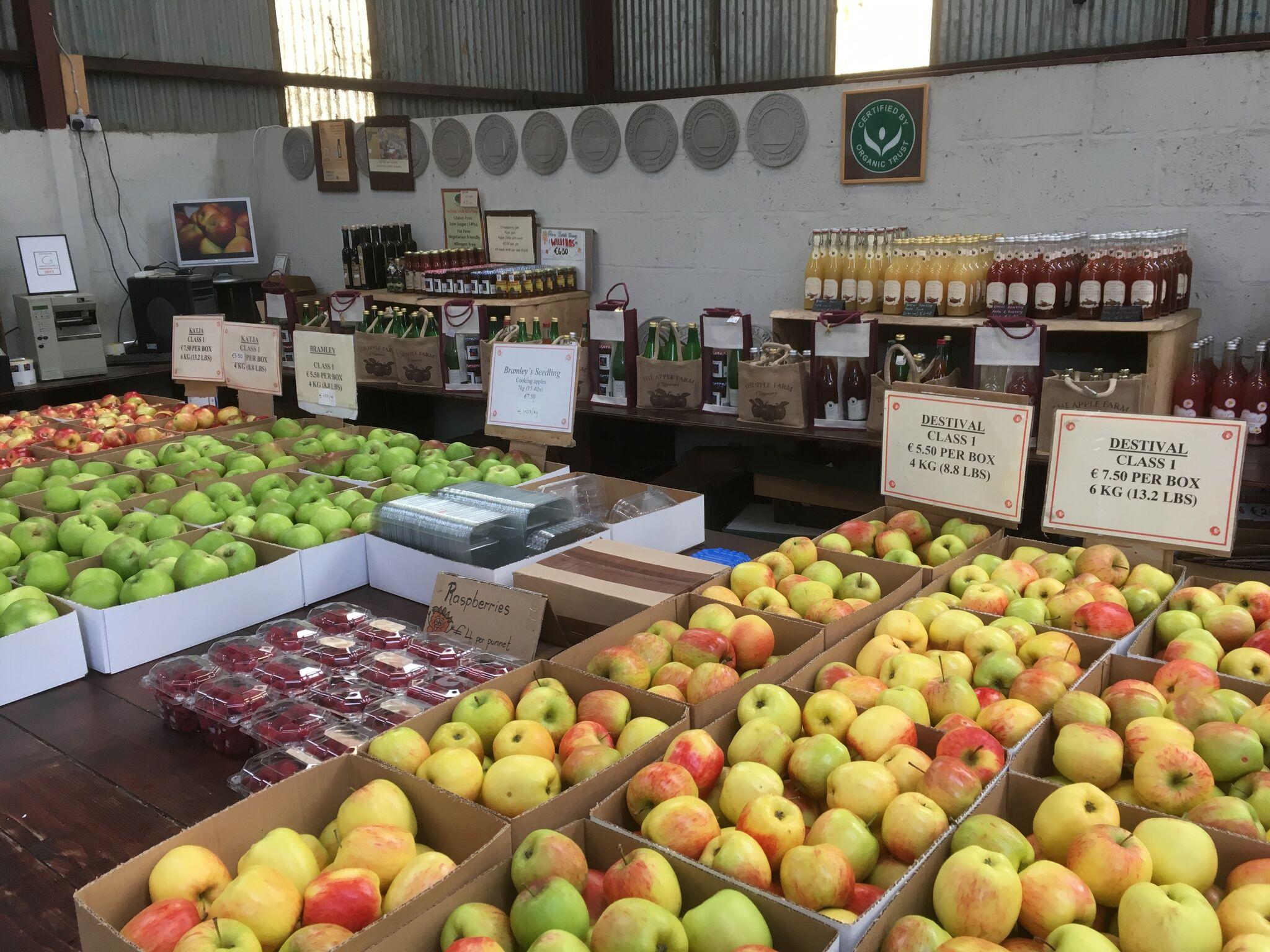 apple farm shop