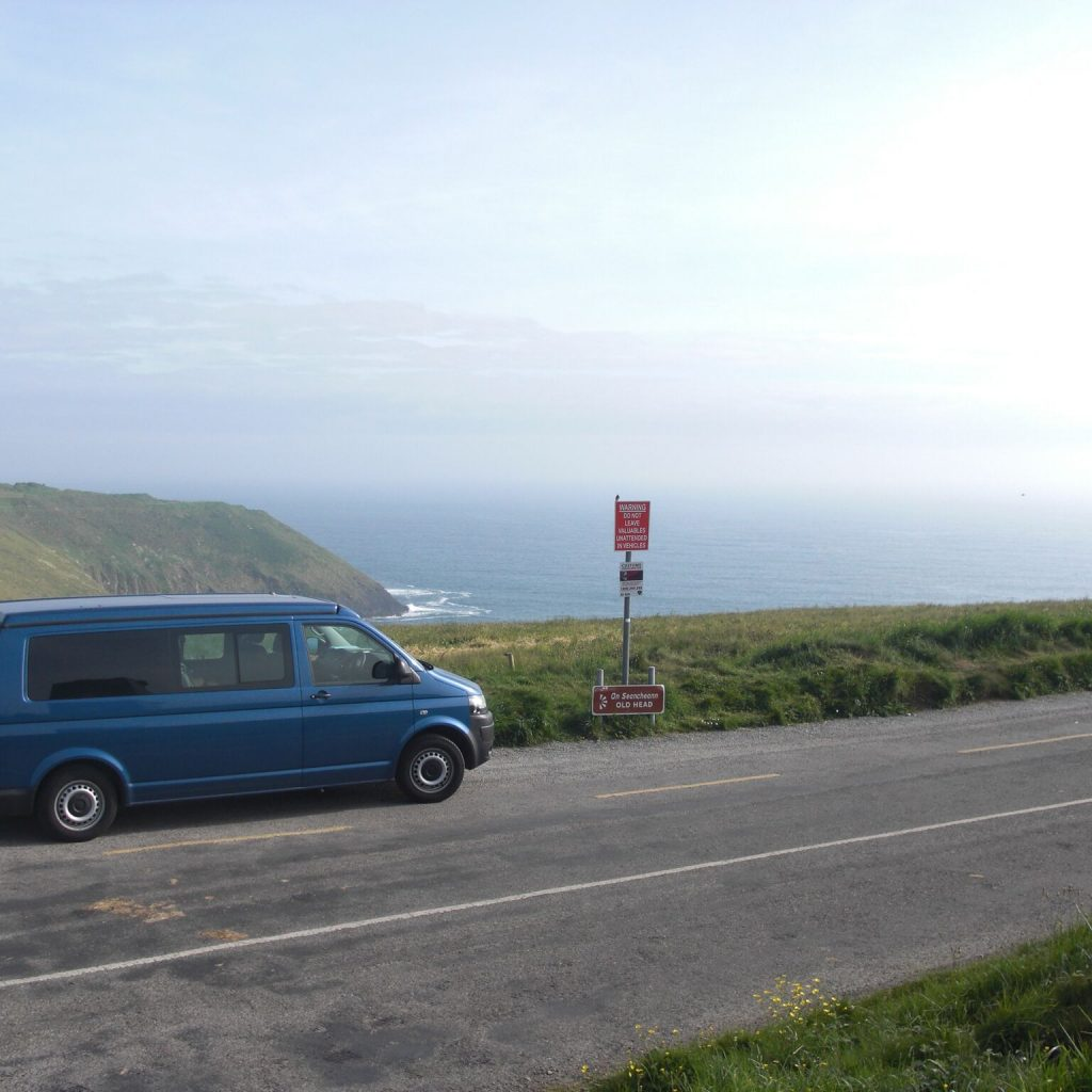 camper van wild atlantic way