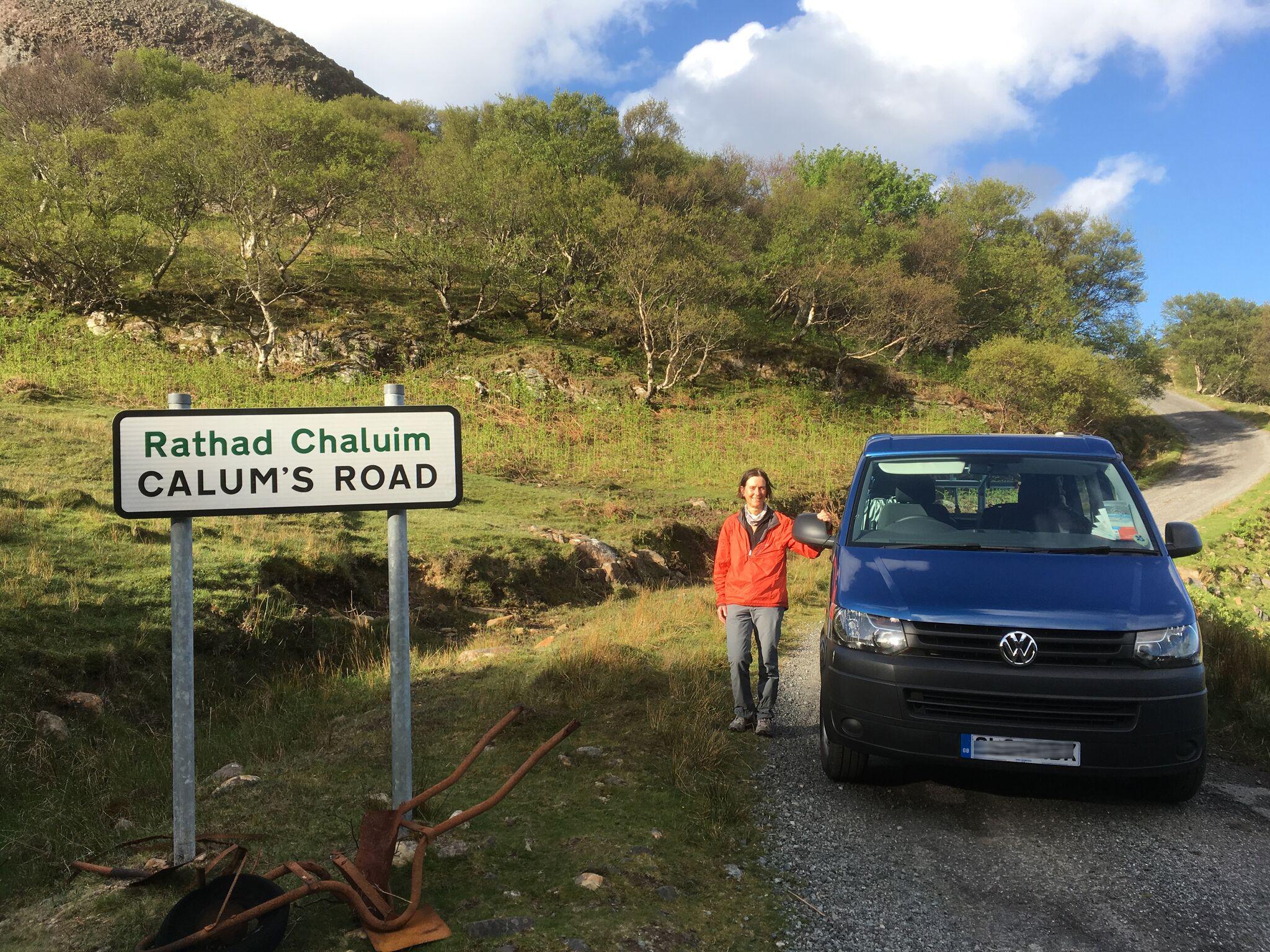 campervan calum's road