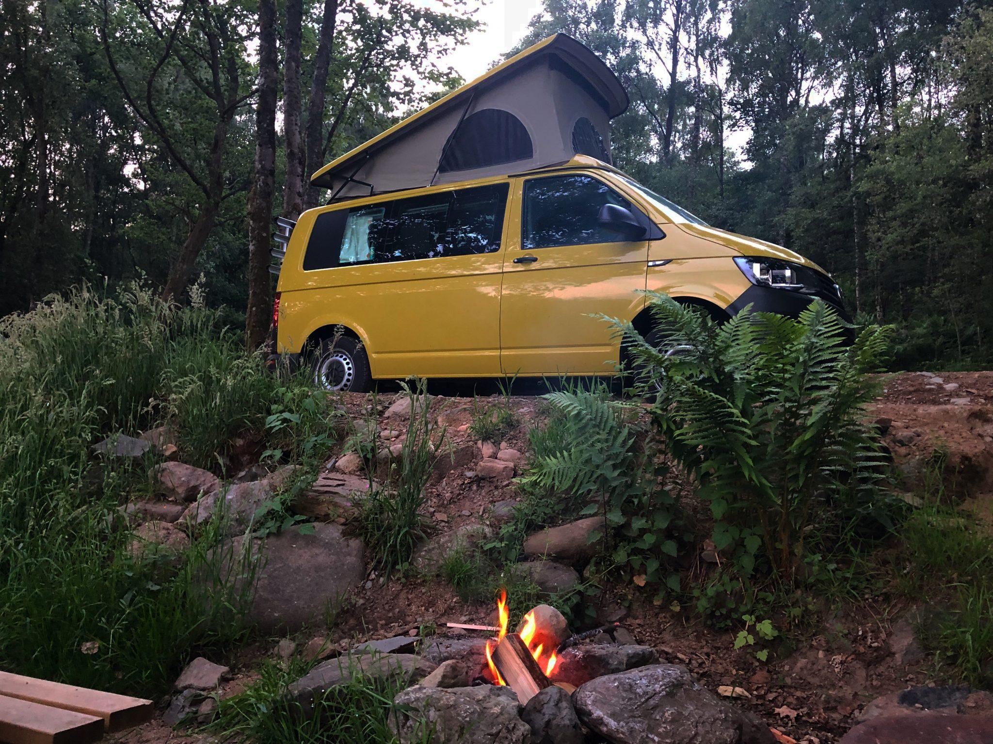 best campsites for campervans