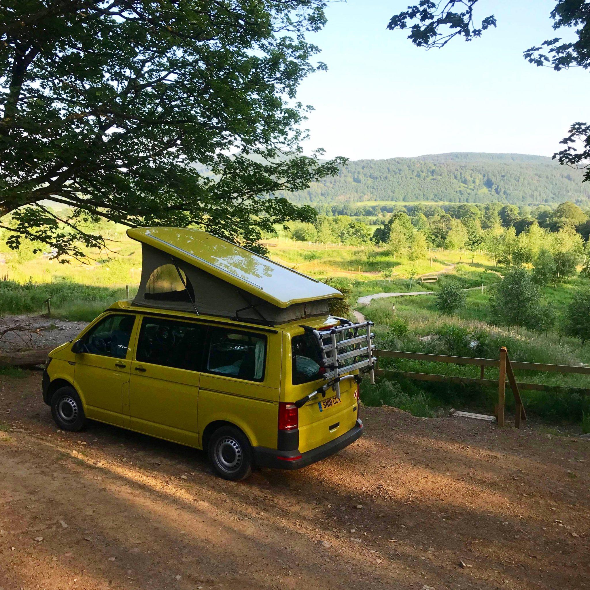 campervan campsites scotland