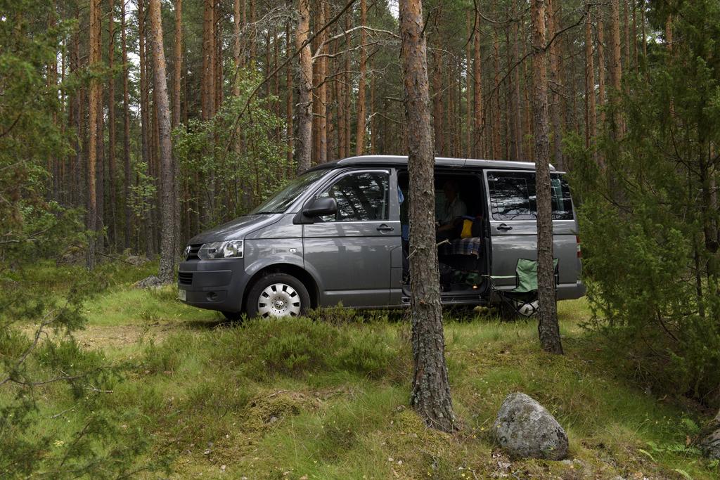 sweeden campervan trip