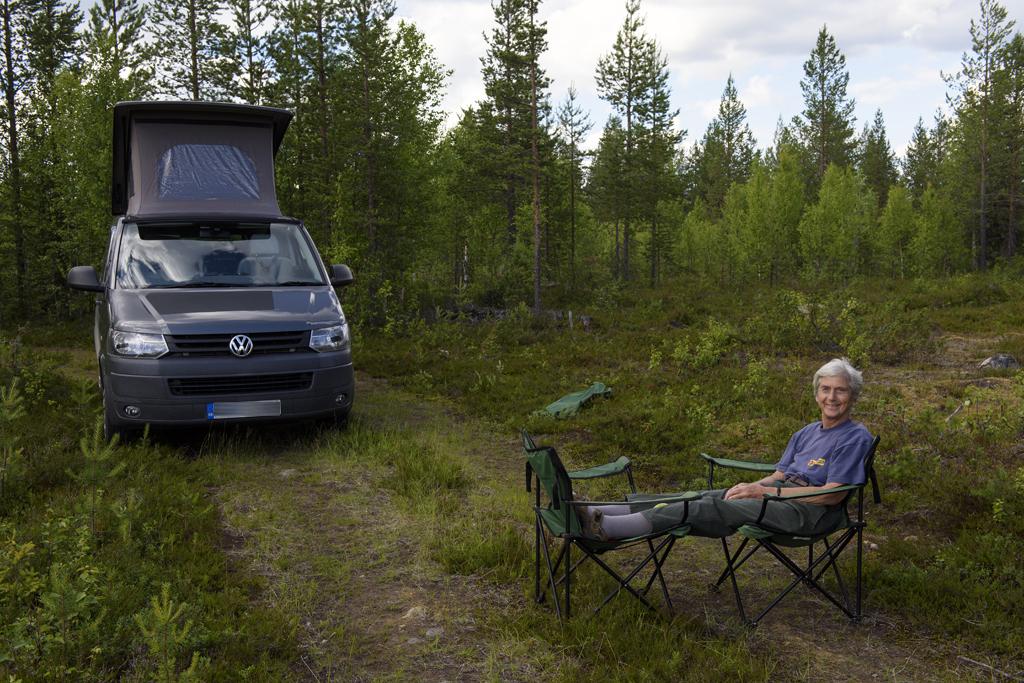 finland campervan trip