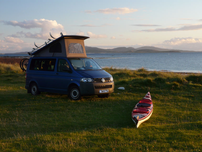 Travels with a Campervan and Kayaks