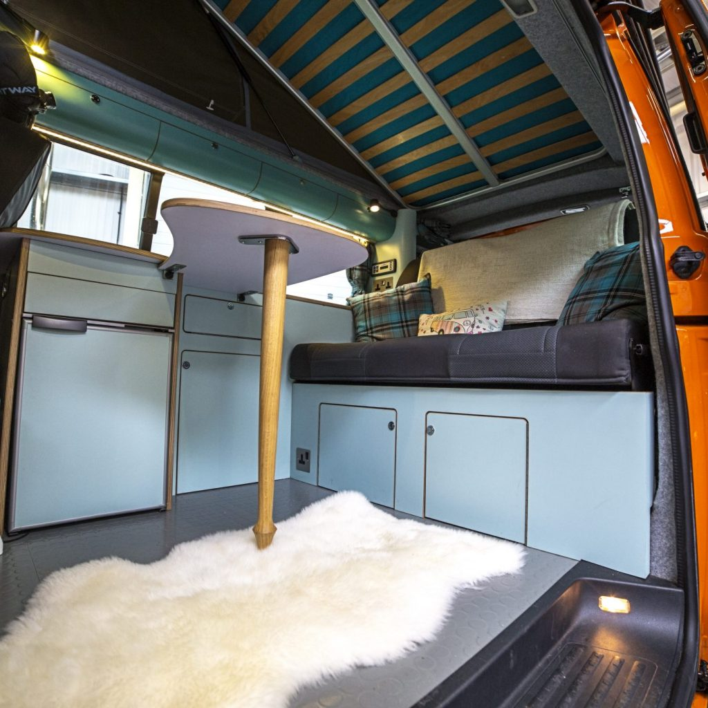 The Ultimate Self Build Camper With Jerba Roof