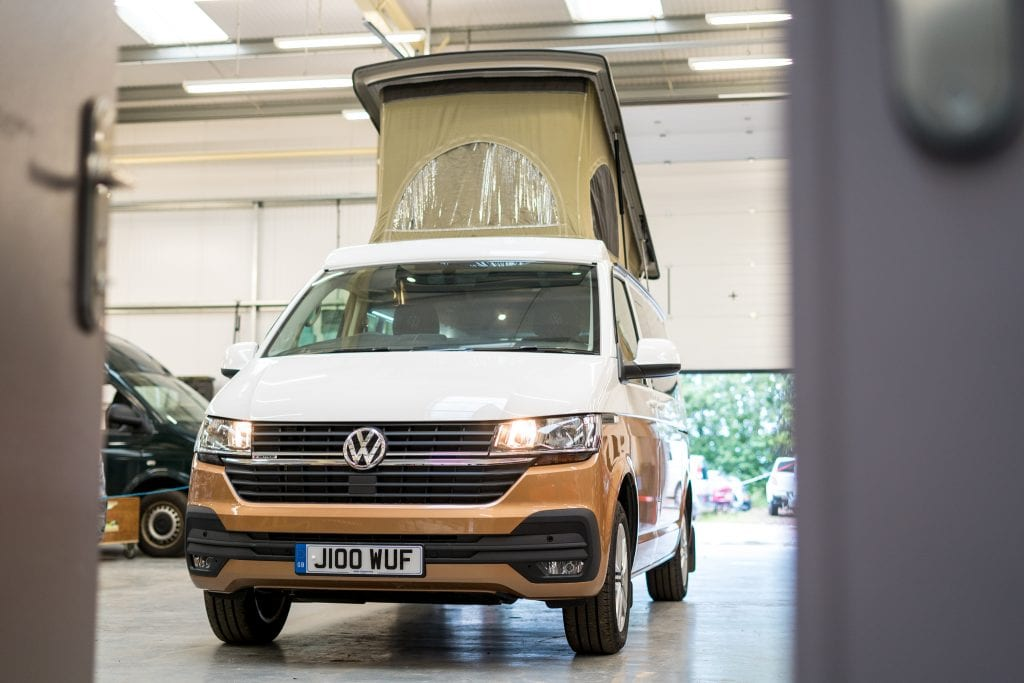 New Vw T6 Campervans Explore The Range 5 Layouts To Choose From