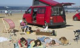 UK beach holiday